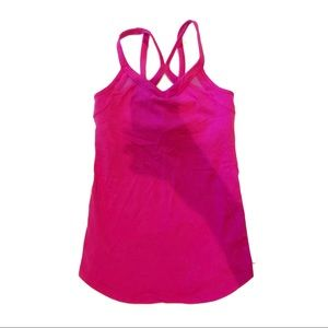 Lululemon Dark Pink Workout Tank